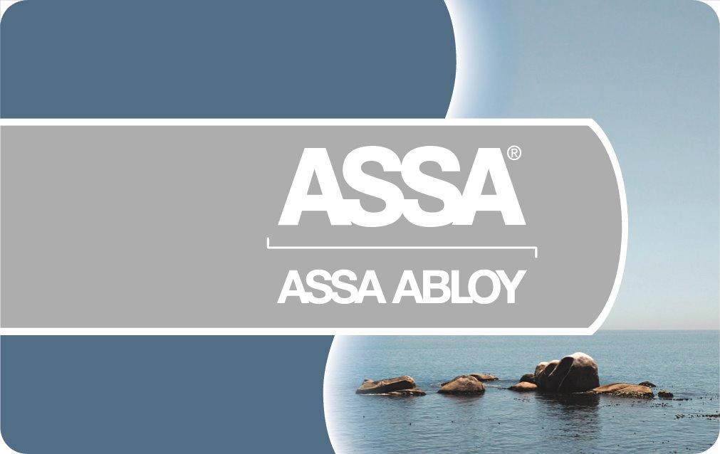 MIFARE 1K kort HiCo, ASSA logo