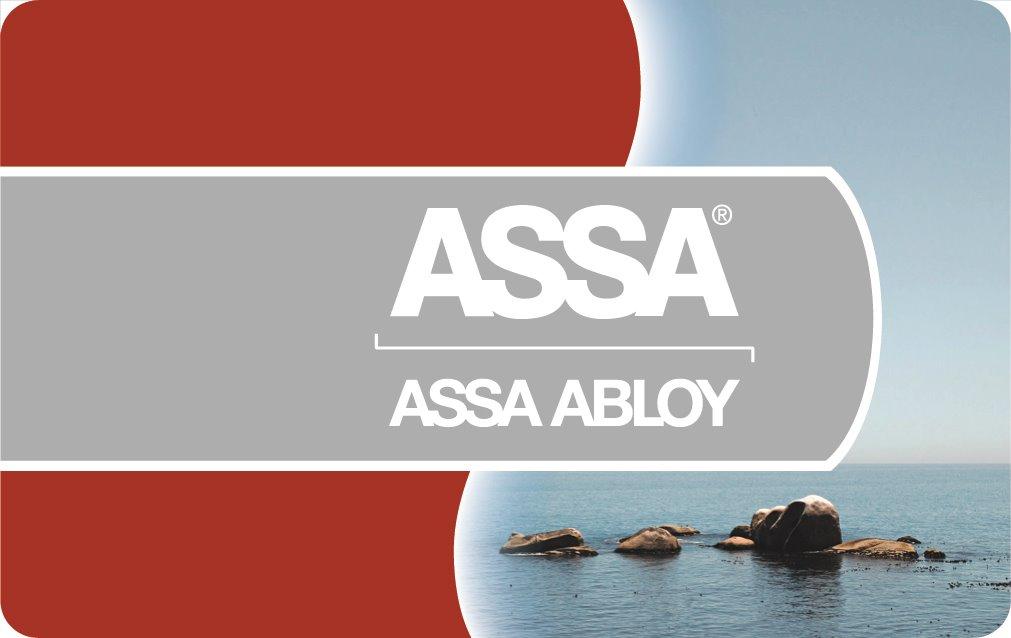 DESFire EV1 2K kort HiCo, ASSA logo