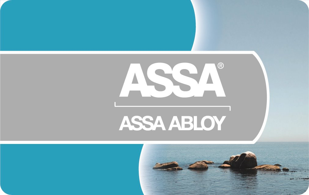 MIFARE 4K kort HiCo, ASSA logo