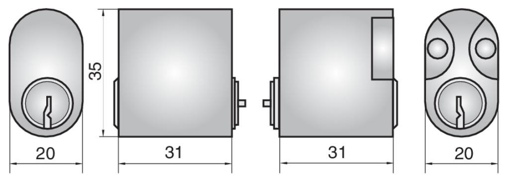 P602 - Double Cylinder